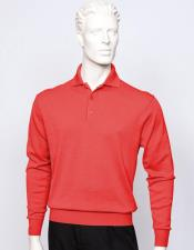 CH1660 Tulliano mens long sleeve silk/cotton fine gauge knitwear