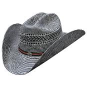 KA8768 Authentic Los altos Hats-Two Tone Rodeo Straw Cowboy