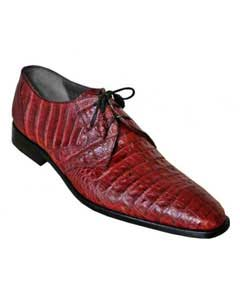 PN_A0 Authentic Los altos Burgundy Genuine All-Over Crocodile ~