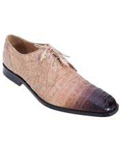 JSM-4590 Genuine Oryx Crocodile Caiman Belly Oxfords Dress Los