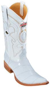 KA5699 Eel Classy Vintage Riding White Authentic Los altos