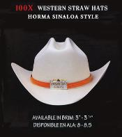 Western Straw Hat By Authentic Los altos