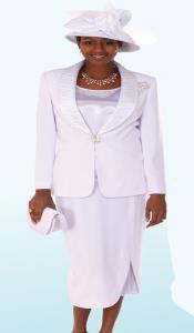 KA6897 Lynda Couture Promotional Ladies Suits- White