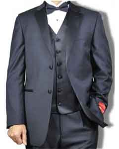 RA26 Mantoni Notch Lapel Vested 2 Button Style Tuxedo