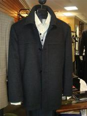 "KA1375 Mantoni ""SB Pea Coat"" in Wool Fabric and"