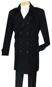 MK711 Double breasted overcoats outerwear ~ topcoat (Belted optional