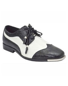 BC-94 Dress Shoes for Online Liquid Jet Black White