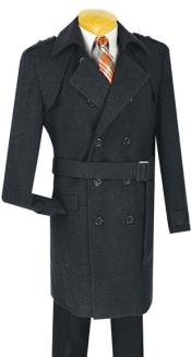 MK710 Double breasted overcoats outerwear ~ topcoat (Belted optional