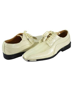 QY37L Two Toned Shoes for Online Ivory ~ Cream