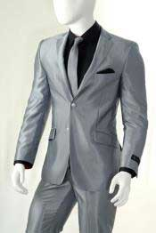 AC-910 Shiny Silver Gray ~ Grey Light Flashy Slim