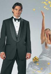 QY33L Big and Tall or Extra Long Tuxedo Suit
