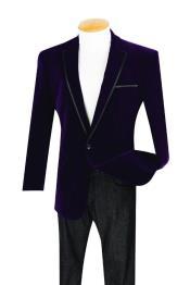 1 Button Style Purple color