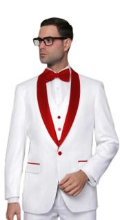 Tux-SH Alberto Nardoni Best Mens Italian Suits Brands White