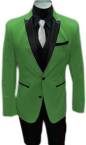Stage Alberto Nardoni Best Mens Italian Apple Green Suits