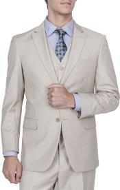 Notched Lapel 2-Button Front Vested