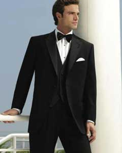 KA5723 2-Button Peak 1920s tuxedo style (Slim narrow Style