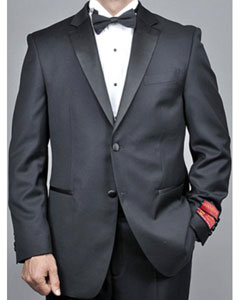 Product# AH61 Mantoni Lapel Tuxedo 2 Button Style Liquid