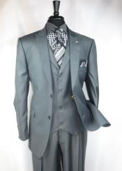 RM1406 Falcone Brand Single Breasted 2 Button Style Athletic