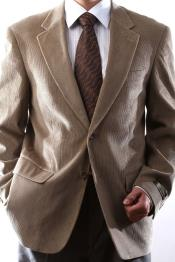 Two Button Tan khaki Color