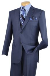 KA6639 Executive 2 Piece Suit Blue