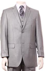 RM1556 Regular Fit Two 2 Button Style Vested Athletic