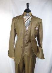 Falcone Suit Brand Peak Lapel