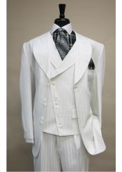SS-86 Vested 6 button Single Breasted Suit ( Jacket