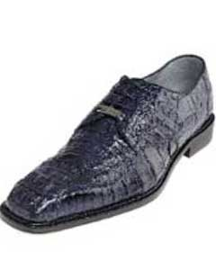 PN-7L Belvedere attire brand Chapo Navy All-Over Genuine Hornback