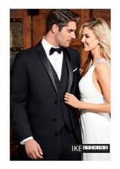 Parker 2-Button Notch Black Tuxedo