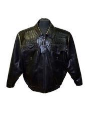 AP627 G-Gator - 2035 Black Stand Up Collar Calf