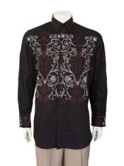 Mens Casuasl Black Shirt