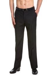AA463 Tuxedo Pants Flat Front with Satin Band Liquid