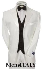 MG27 Light Weight White Tuxedo 1 or 2 or