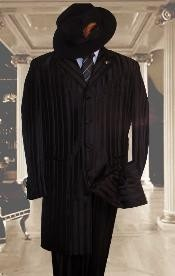FJS146 Tonal Shadow Pinstripe tone on tone Tuxedo Pattern