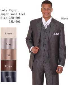 LT-30 3 Piece 33 Jacket with Double Vents Suit