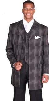 Long Jacket Fashion Suit