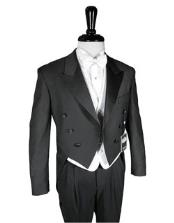 Product# JSM-2157 Super 150s Peak Tailcoat