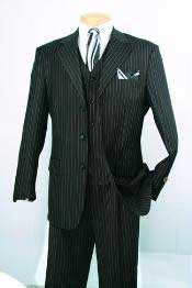 BJ434 Superior Fabric 150s Luxurious Fashion three piece suit