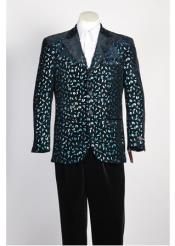 Black Rayon Fashion Blazer