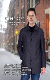 MK514 Liquid Jet Black Sb Pea Coat