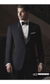Product# JSM-2384 Waverly Black Tuxedo Jacket