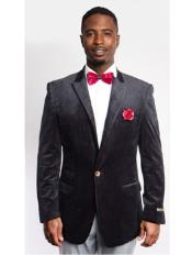 Mens Fashion Peak Lapel
