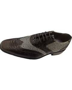 Wing-tip Design Dress Shoes