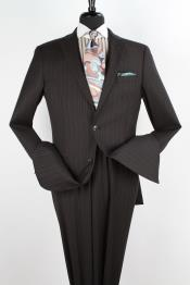 PLA2 2 Piece 100% Wool Fabric Executive Suit -