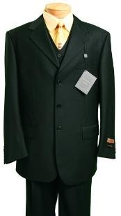 Fashion three piece suit in