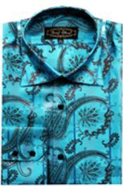 Shirts Blue (100% Polyester)
