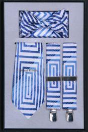 NG50 Suspender Tie Bow Tie ~ Bowtie and Hanky