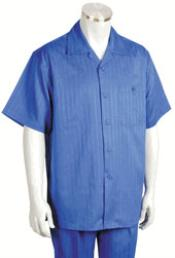 KA8701 Leisure Walking Suit Short Sleeve 2piece Walking Suit