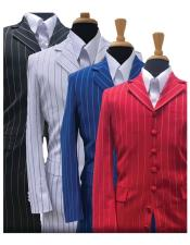 JSM-5295 Bold Gangster Stripe ~ Pinstripe Fashion Zoot Suit