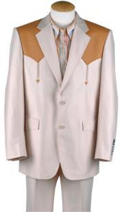 PO270 Western cowboy suit traje vaquero Polyester Suit Set